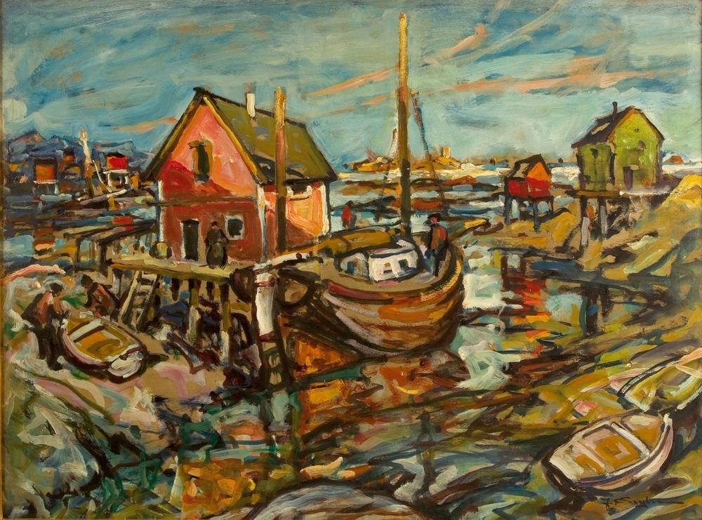 Hafen von Svolvaer, Lofoten
