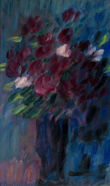 Blumenstrauß im Abendlicht