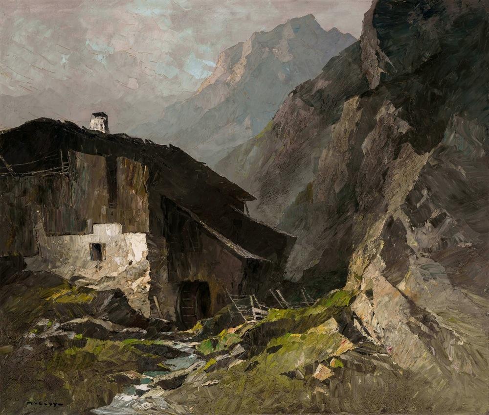 Bergbauernhof mit Mühle